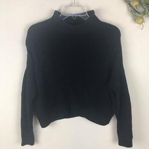 Topshop Petite Crop Mock Turtle Neck Sweater 4